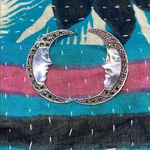 🌙Man On The Moon Earrings SS